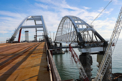 Строители Крымского моста рассказали о достигнутых результатах