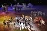 Талисманом Олимпийских игр стал тигренок Сухоран. Символика с ним была представлена на церемонии открытия.