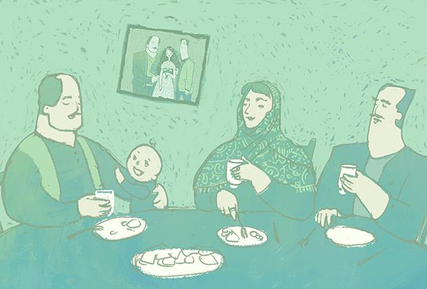 Раскадровка для социальной анимации проекта «Отцы и дочки»