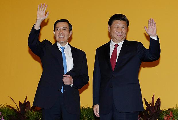Ма Инцзю и Си Цзиньпин