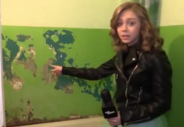 Ванная комната в общежитии Северо-Кавказского федерального университета