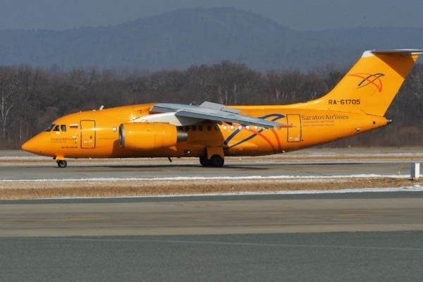 Ан-148 «Саратовских авиалиний», архивное фото