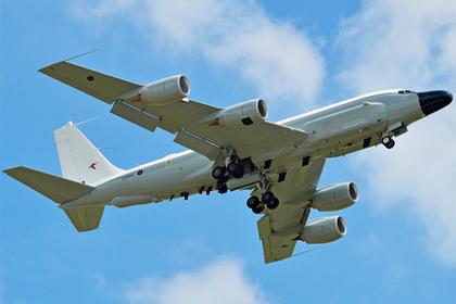 Американский самолет-разведчик в 15-й раз с начала года засекли у границ России