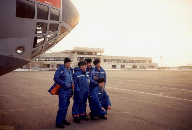 В аэропорту Грозного