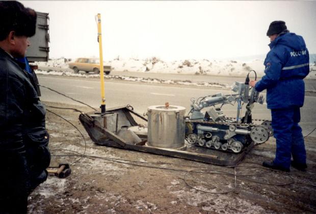 Робот готов к работе