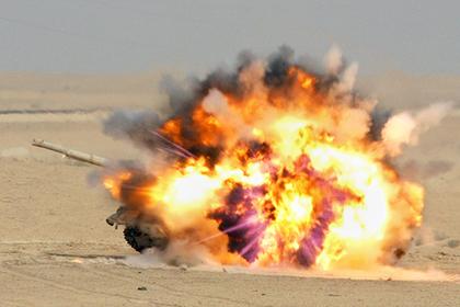 США уничтожили советский Т-72 в Сирии