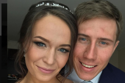 Спортсмены Денщиков и Потылицына решили скрасить информационный фон и поженились