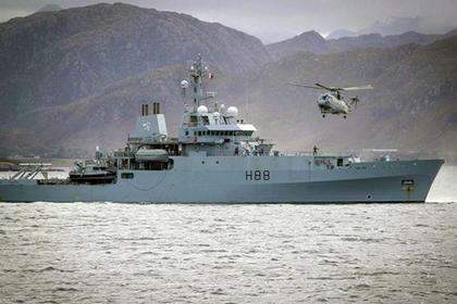 Российский «Кызыл» по пути из Сирии помешал британскому военному кораблю