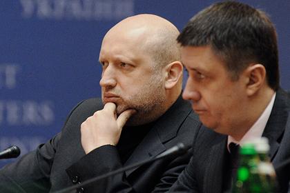 Турчинов задумался о вооруженном «освобождении» ДНР и ЛНР