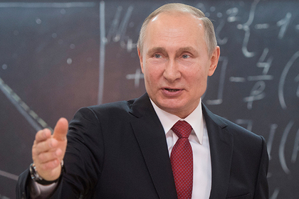 Путин предложил посодействовать  учащимся школ спрофориентацией врамках нового проекта
