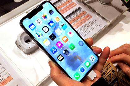 Apple уменьшит «монобровь» iPhoneX