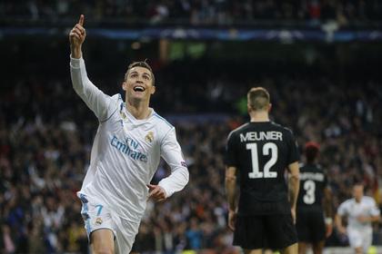 Два гола Роналду принесли «Реалу» победу над ПСЖ в Лиге чемпионов