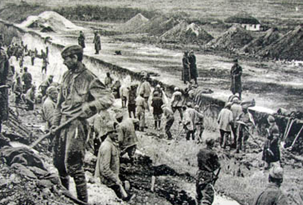 Строительство Колымского тракта, «Дорога на костях»