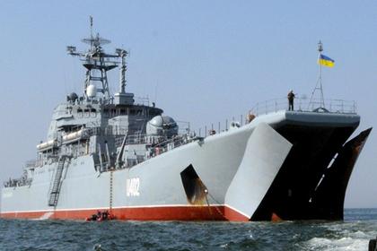 Киев потребовал у России отремонтировать оставленные в Крыму корабли
