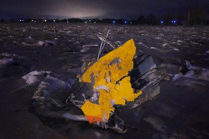 Второй пилот разбившегося Ан-148 летал без профильного образования