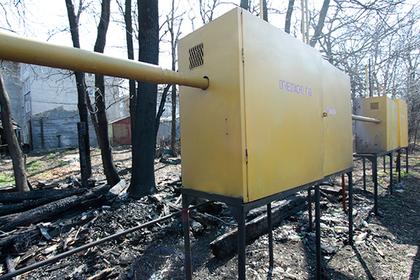 Подсчитаны объемы поставок российского газа в Донбасс