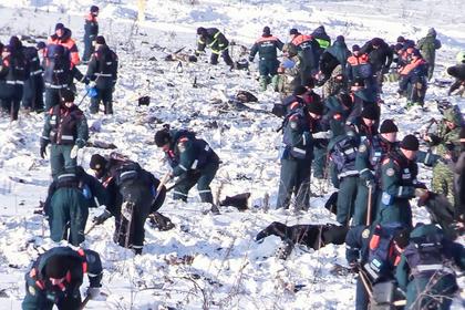 На месте крушения Ан-148 найдено 10 тысяч фрагментов тел