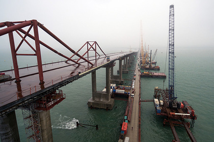 Обозначены сроки запуска движения по Крымскому мосту