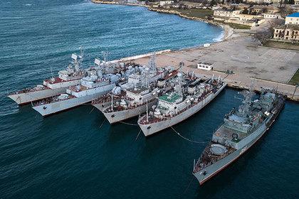 В Крыму оценили требование Киева о ремонте брошенных на полуострове кораблей