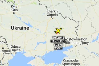 Над Донбассом заметили американский беспилотный разведчик