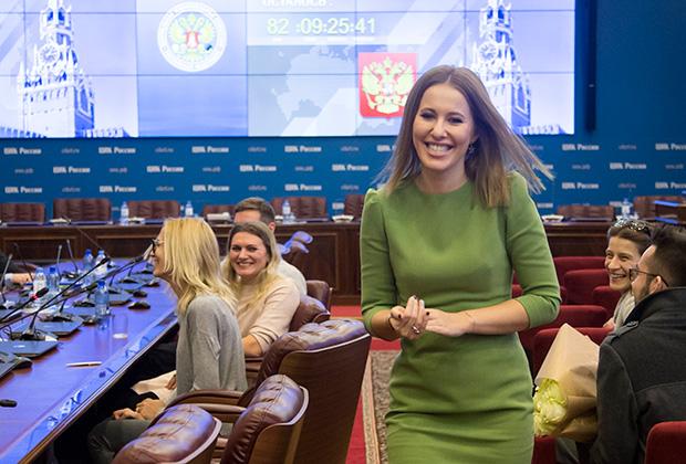 Телеведущая Ксения Собчак не раз заявляла, что уверена в победе на выборах президента действующего главы государства и кандидата Владимира Путина