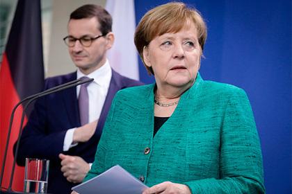 Меркель вступилась за «Северный поток-2»
