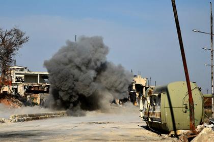 Турция применила в Сирии химическое оружие