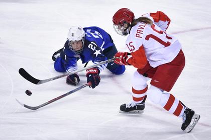 Российская хоккеистка Валерия Павлова