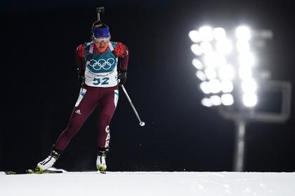 Пришедшая последней российская биатлонистка пожаловалась на тренеров