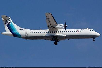 Пассажирский самолет упал в Иране