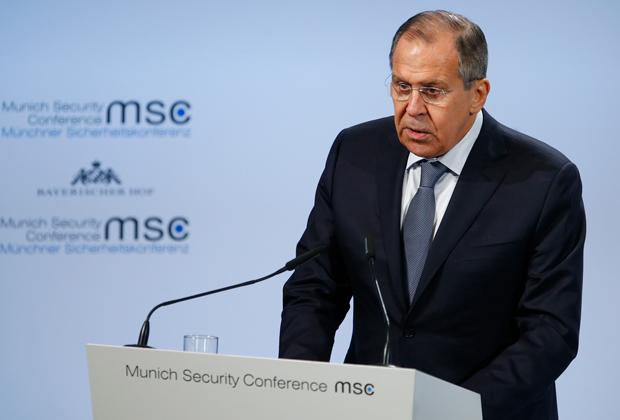 Выступление министра иностранных дел России Сергея Лаврова прошло при полном аншлаге
