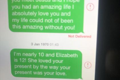 Тайные послания маленькой девочки к умершему деду растрогали соцсети