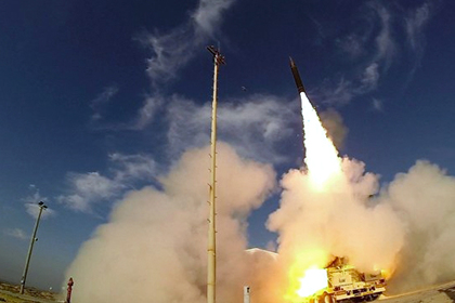 Израиль и США испытали комплекс для перехвата ракет в космосе