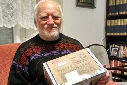 Жители Перми завалили подарками «скрывающего боль» деда Гарольда