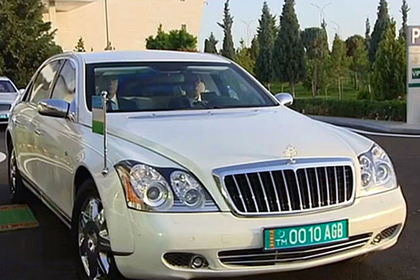 25 бронированных Мерседес Бенс реализует президент Туркменистана