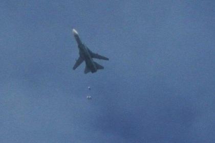 Российские самолеты замечены в зоне крупной военной операции в Сирии