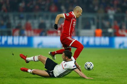 «Бавария» разгромила турецкий «Бешикташ»