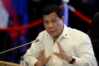 Президент Филиппин рассказал о ненужности презервативов в разгар эпидемии ВИЧ