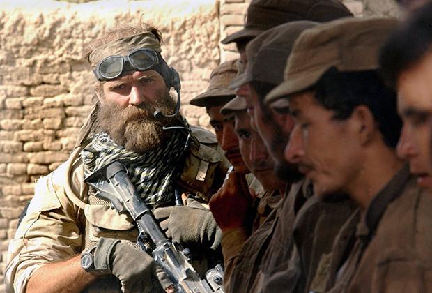 Американский спецназовец в Ираке