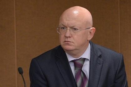 Небензя попросил Хейли «соблюдать дипломатические приличия»