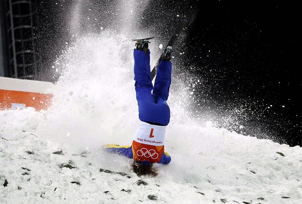 Фристайлистка из Китая Сюй Мэнтао попыталась стать гвоздем олимпийской программы. Кажется, получилось.