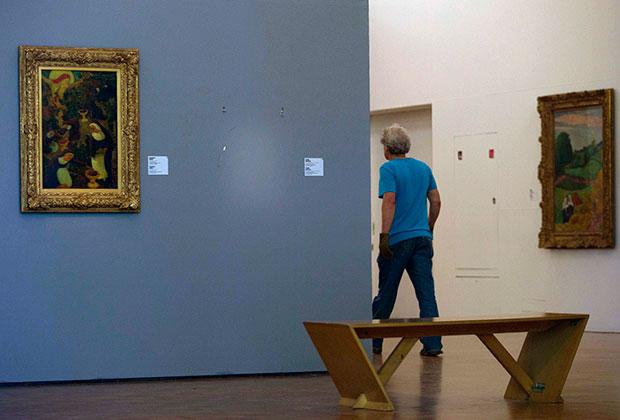 Музей Кюнстхал после ограбления