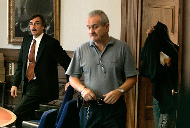 Один из преступников, попавшихся с краденым автопортретом Рембрандта