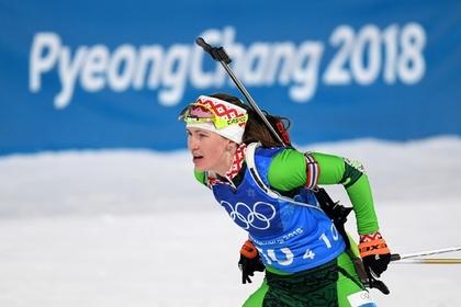 Олимпийская чемпионка из Белоруссии дала совет российскому биатлону