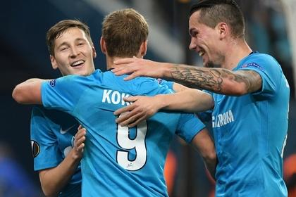 «Зенит» разгромил «Селтик» и вышел в следующий этап Лиги Европы