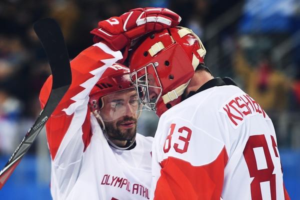 Павел Дацюк и Василий Кошечкин