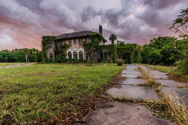 Abandoned Howey Mansion