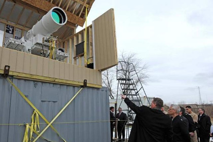 Россия создала противоспутниковую лазерную пушку