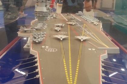 Обнародованы детали проекта нового российского авианосца