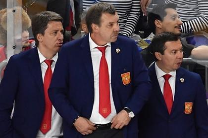 Харийс Витолиньш, Олег Знарок и Илья Воробьев (слева направо)